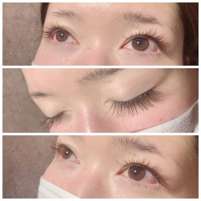 Single lash〜khaki brownJcurl/0.15/10㎜.10㎜.11㎜/170本