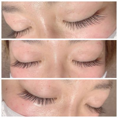 Single lashCcurl/0.15/10㎜.11㎜.12㎜/140本